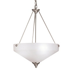Ansonia Bowl Pendant by Kichler