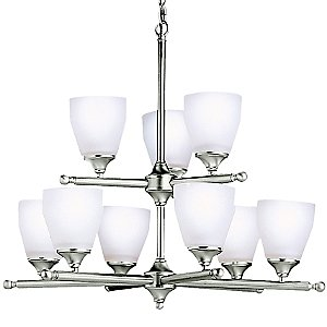 Ansonia Two-Tier Chandelier by Kichler