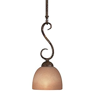 Caspian Mini Drop Rod Pendant by Minka Lavery