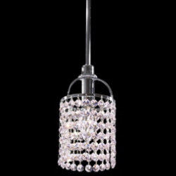 Tekno Mini Echo Strass Crystal Pendant by James R Moder