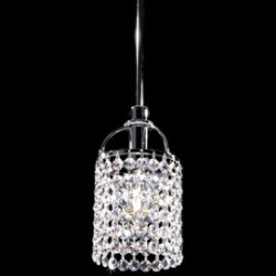 Tekno Mini Echo Clear Crystal Pendant by James R Moder
