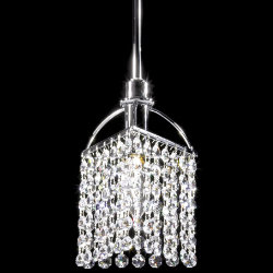 Tekno Mini Pendant Golf Clear Crystal by James R Moder