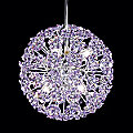 Tekno Mini Sun Sphere Strass Crystal Chandelier by James R Moder