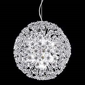Tekno Mini Sun Sphere Clear Crystal Suspension by James R Moder