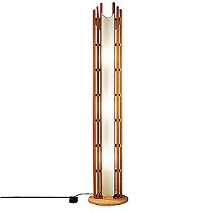 Domus Manhattan Floor Lamp by Justice Design