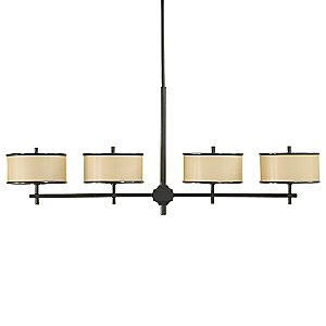 Casual Luxury Linear Suspension by Murray Feiss