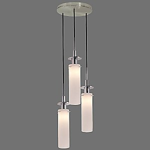 Candle Multi-Light Pendant by Sonneman