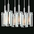 Zylinder Multi-Light Linear Pendant by Sonneman