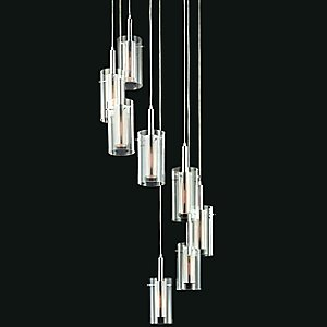 Zylinder Multi Light Pendant by Sonneman