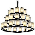 Veneto Luce Dakota Three-Tier Chandelier by Justice Design