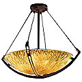 Veneto Luce Bowl Suspension with Crossbar by Justice Design