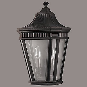 Cotswold Lane Outdoor Flush Wall Sconce by Murray Feiss