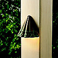 Ainsley Square Deck Light by Kichler