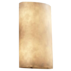 Clouds Cylinder Wall Sconce by Justice Design