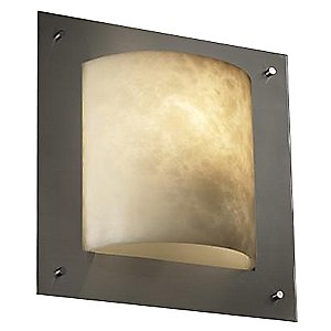 Clouds Framed Square Wall Sconce by Justice Design