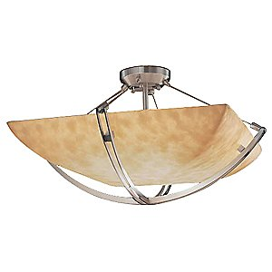 Clouds Semi-Flushbowl with Crossbar-Small by Justice Design