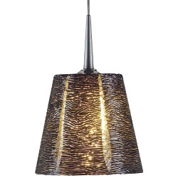Bling I Down Pendant by Bruck Lighting Systems