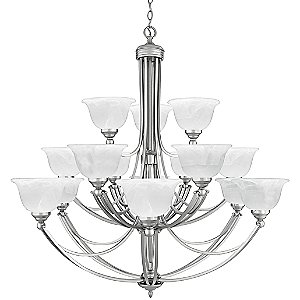 Delray 3 Tier Chandelier by Quoizel