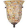 Monterey Mosaic Flush Wall Sconce by Quoizel