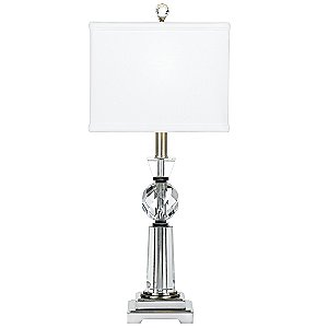 Optic Glass IV Table Lamp by Quoizel