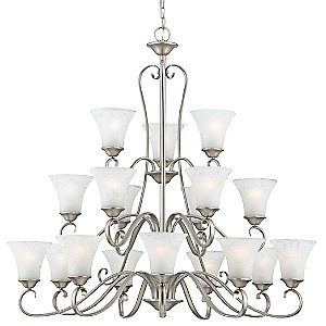 Duchess 3-Tier Chandelier by Quoizel