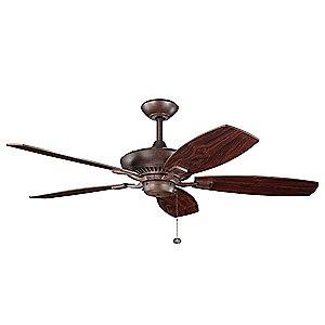 "Canfield 52 Ceiling Fan by Kichler Lighting"""