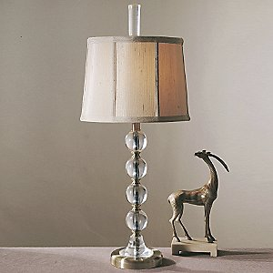 Empress Clear Table Lamp by Uttermost
