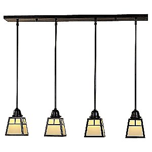 A-Line Multi-Light Pendant by Arroyo Craftsman
