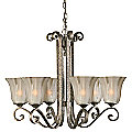 Lyon 6-Light Chandelier by Uttermost