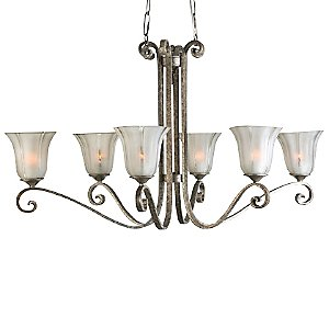 Lyon Oval Chandelier by Uttermost