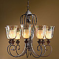 Elba Chandelier by Uttermost