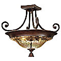 Elba Semi-Flushmount by Uttermost