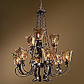 Vetraio 2-Tier Chandelier by Uttermost