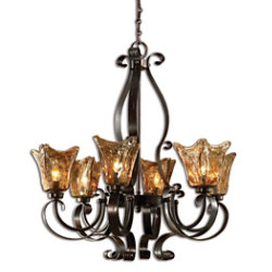 Vetraio 6-Light Chandelier by Uttermost