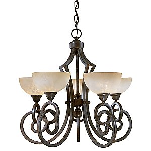 Legato 5-Light Chandelier by Uttermost
