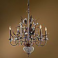 Cristal de Lisbon 6 Light Chandelier by Uttermost