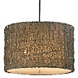Knotted Rattan Drum by Uttermost