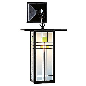 Franklin Hanging Outdoor Wall Sconce by Arroyo Craftsman