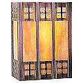 Glasgow Flush Wall Sconce by Arroyo Craftsman