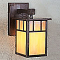 Huntington Hanging Outdoor Wall Sconce by Arroyo Craftsman