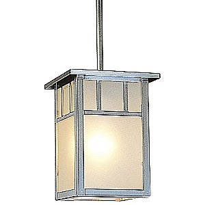 Huntington Outdoor Pendant with Stem by Arroyo Craftsman
