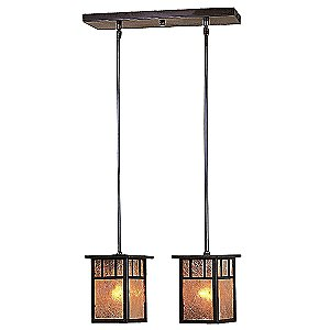 Huntington Multi-Light Pendant by Arroyo Craftsman