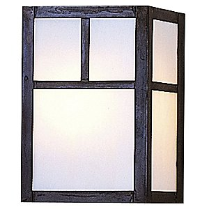 Mission Flush Wall Sconce by Arroyo Craftsman