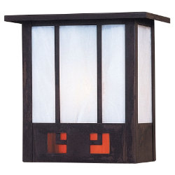 State Street Outdoor Wall Sconce by Arroyo Craftsman