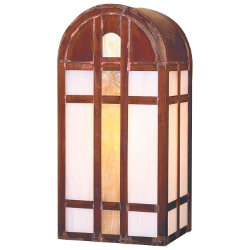 Yorktown Outdoor Wall Sconce by Arroyo Craftsman