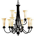 Abbeyville Two-Tier Chandelier by Kichler