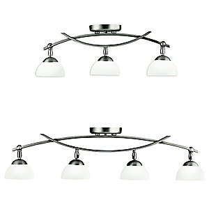 Bellamy Adjustable Rail Light by Kichler