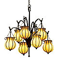 Mardi Gras Chandelier by Kalco Lighting