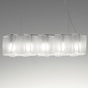 Logico Nano Quintuple Linear Suspension by Artemide