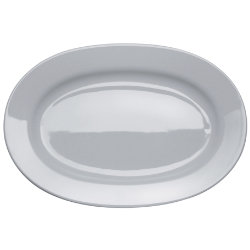 PlateBowlCup Oval Serving Plate by Alessi